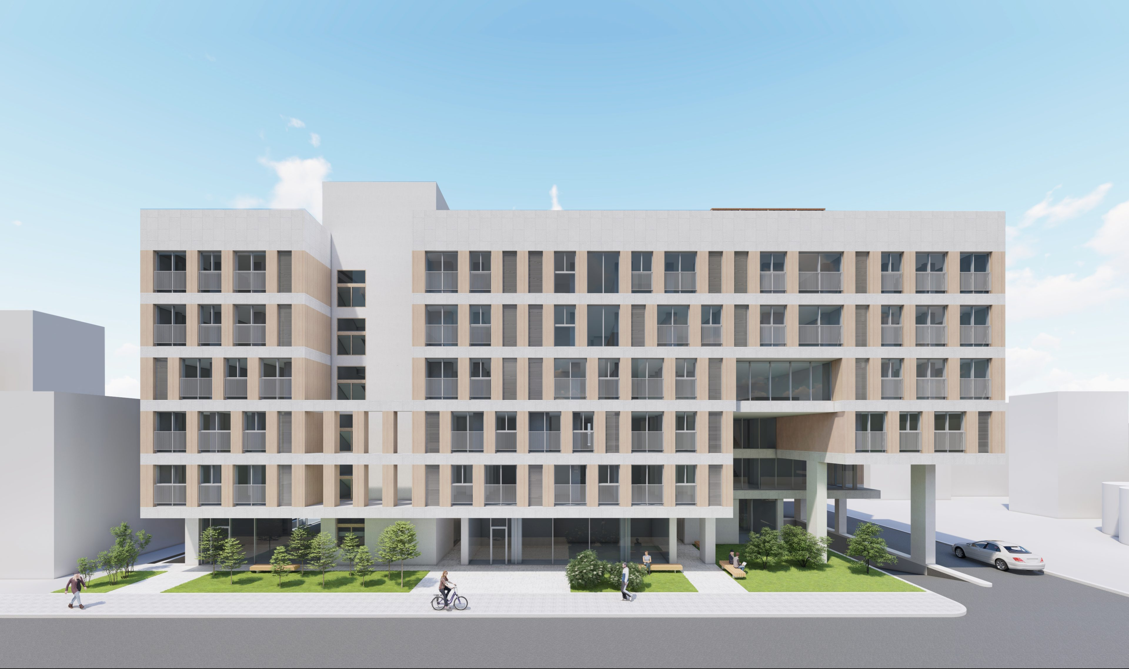 장안동 공동주택, 2020