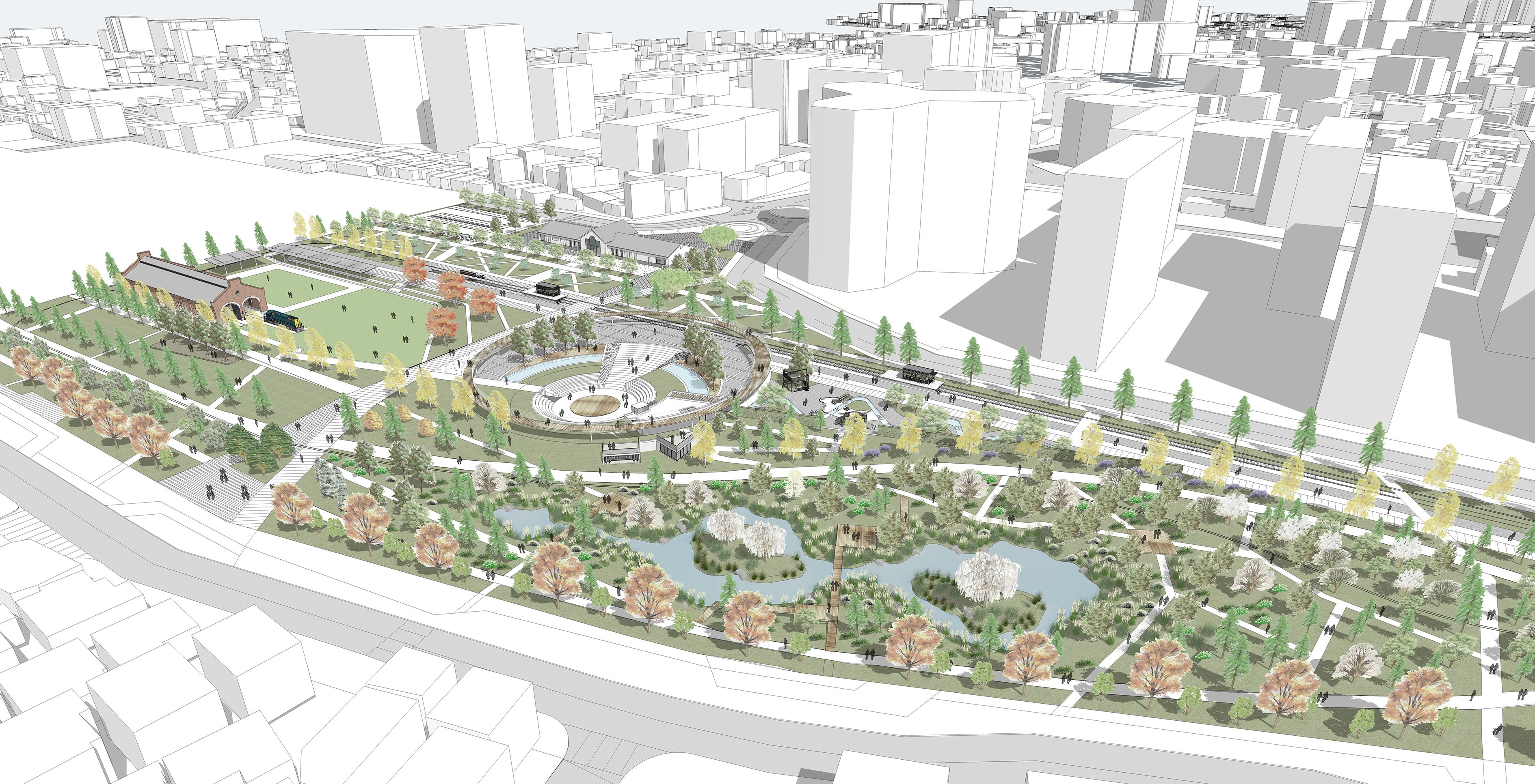 진주역 복합문화공원, 2020