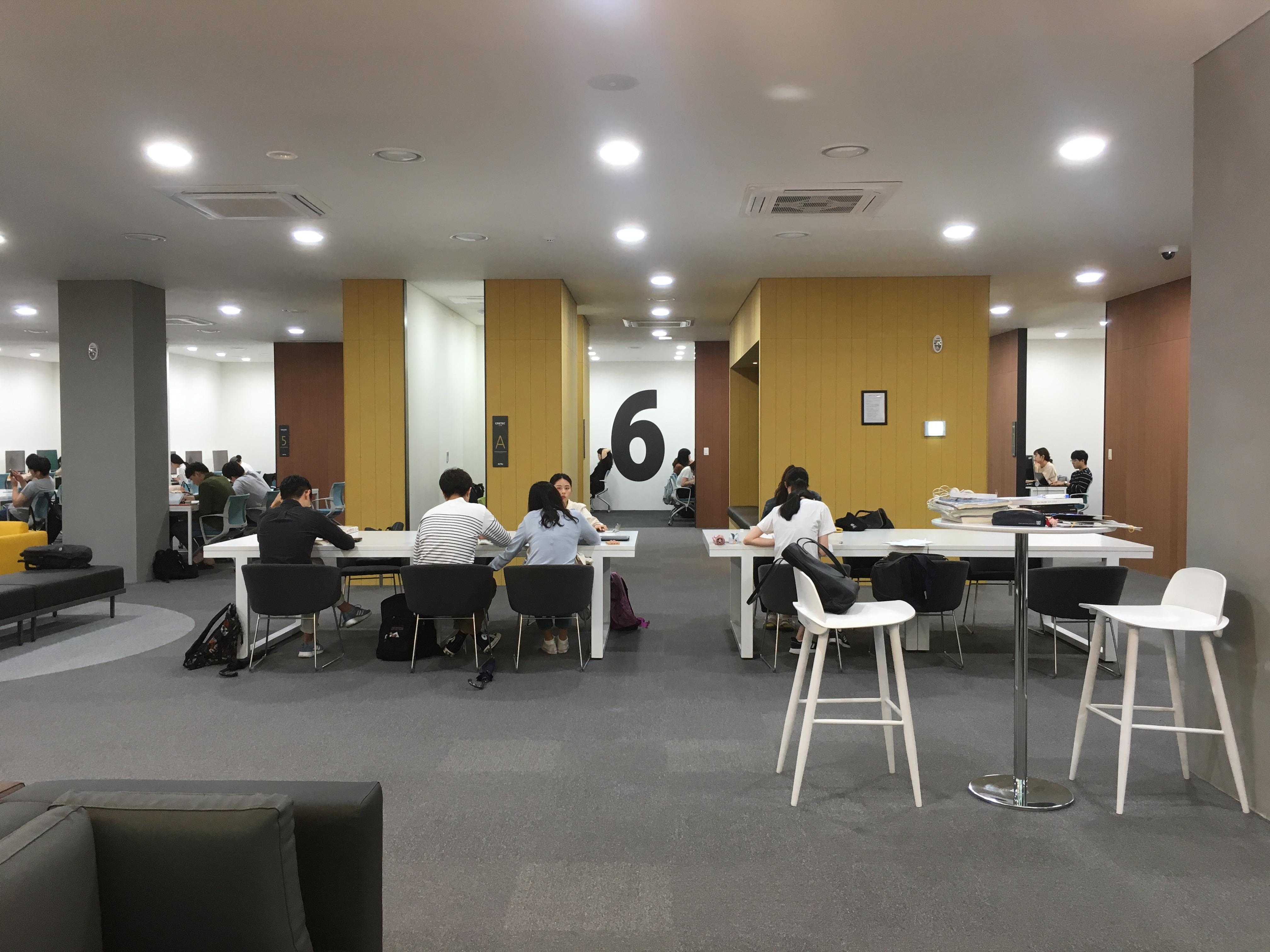 경북대학교 중앙도서관 리노베이션, 2018